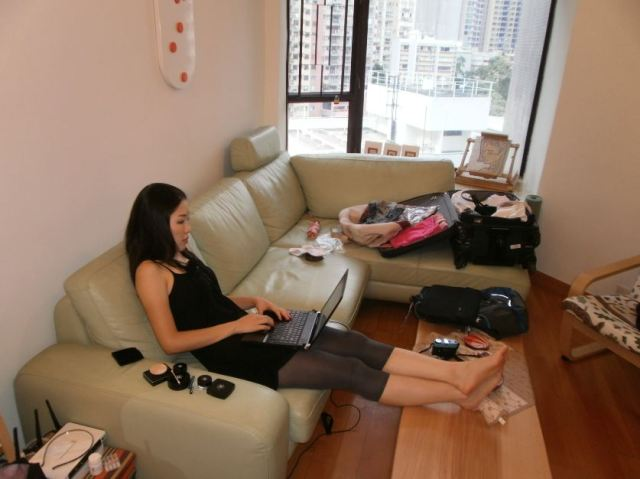 Working from home in Hong Kong