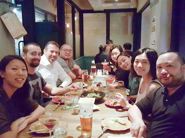 Hong Kong Maximum team dinner