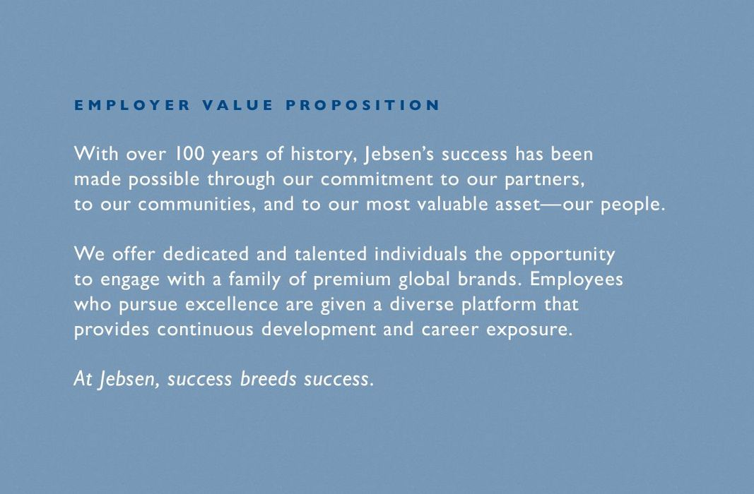 Jebsen - Employer Value Proposition by Maximum Employment Marketing Group (EMG)