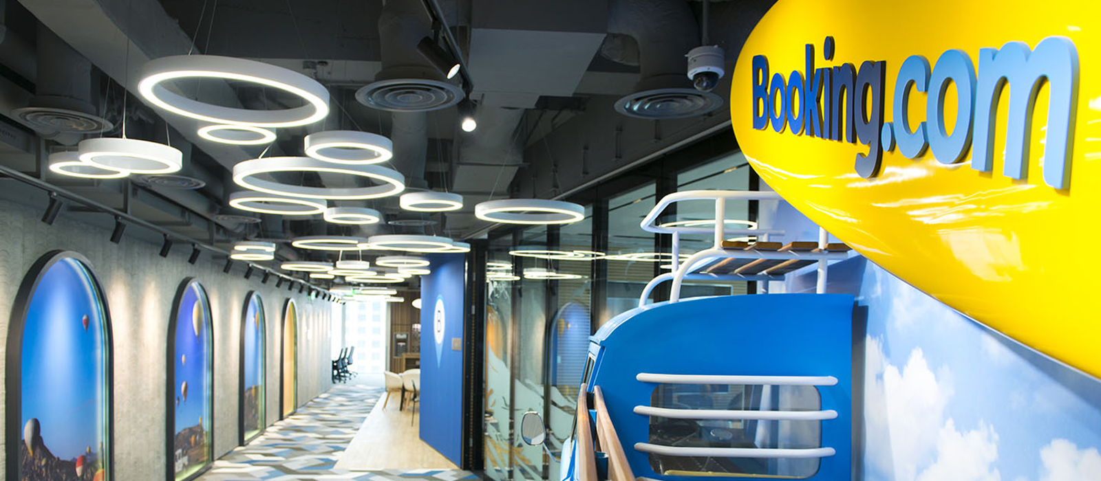 Booking.com's China office
