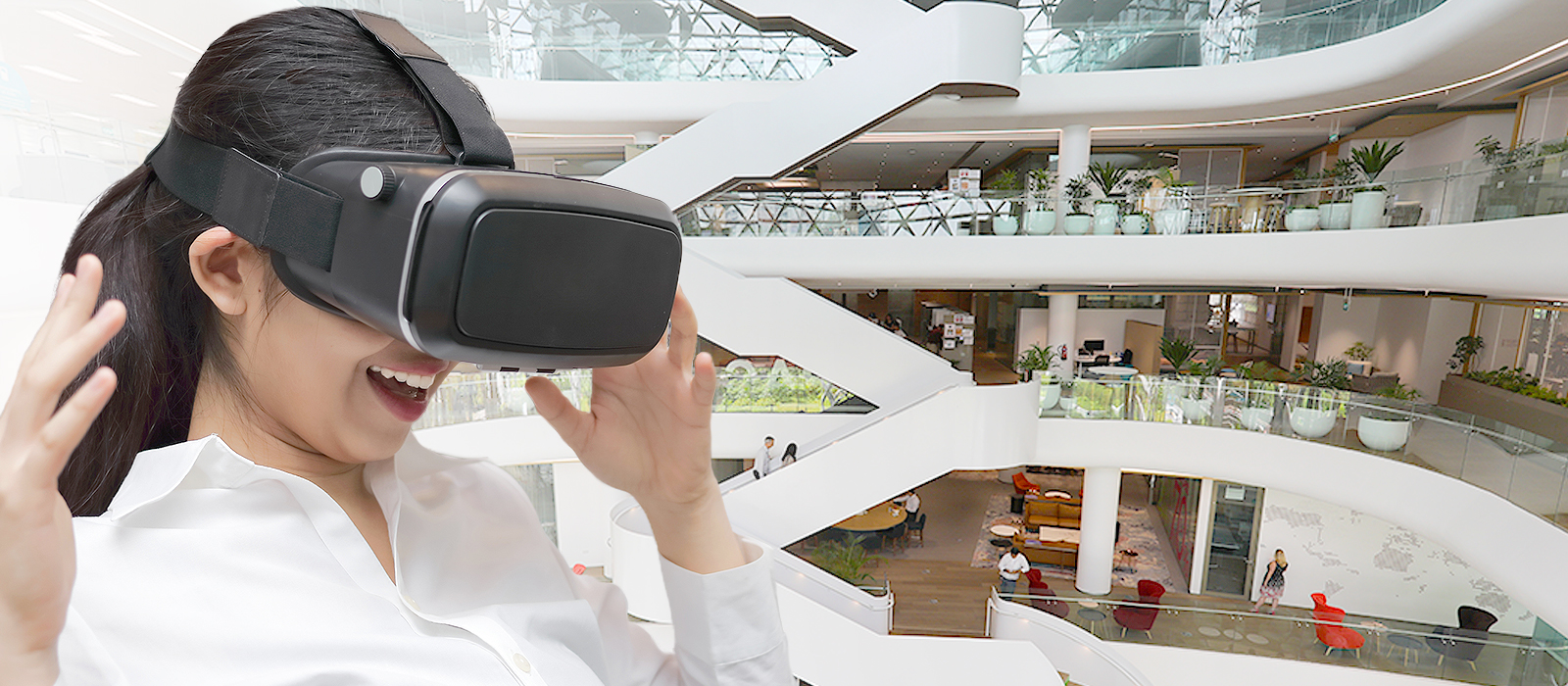 Using VR to create an immersive experience for candidates, especially early talent
