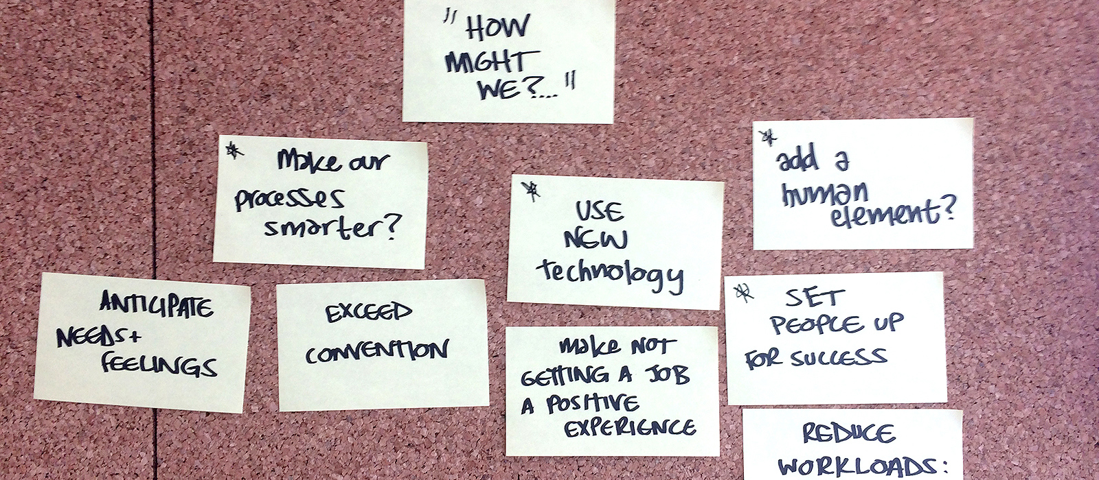 Key questions we asked when rethinking the candidate journey experience